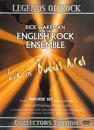 Rick Wakeman & The English Rock Ensemble — Live in Buenos Aires