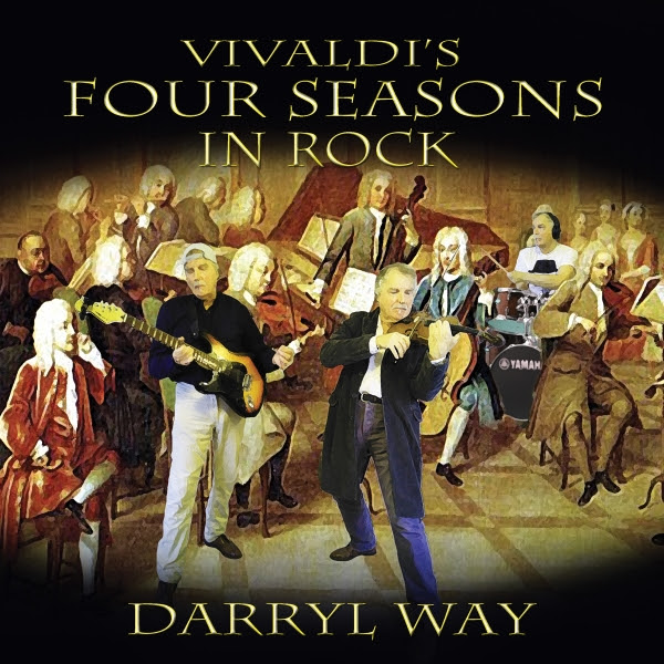 Vivaldi's Four Seasons in Rock Cover art