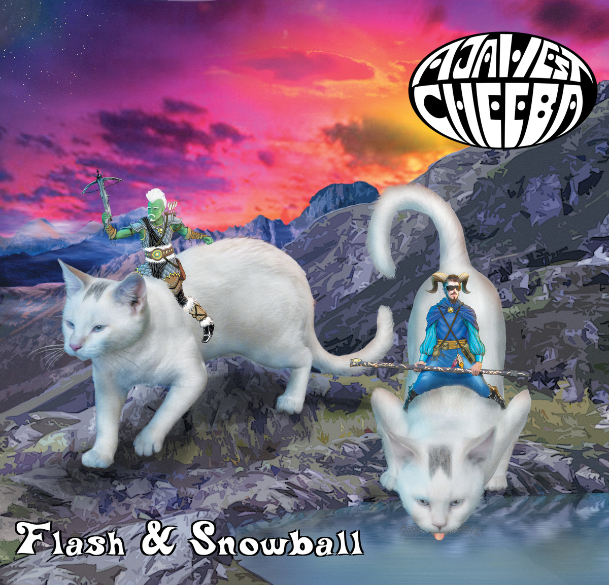 Aja West & Cheeba — Flash & Snowball