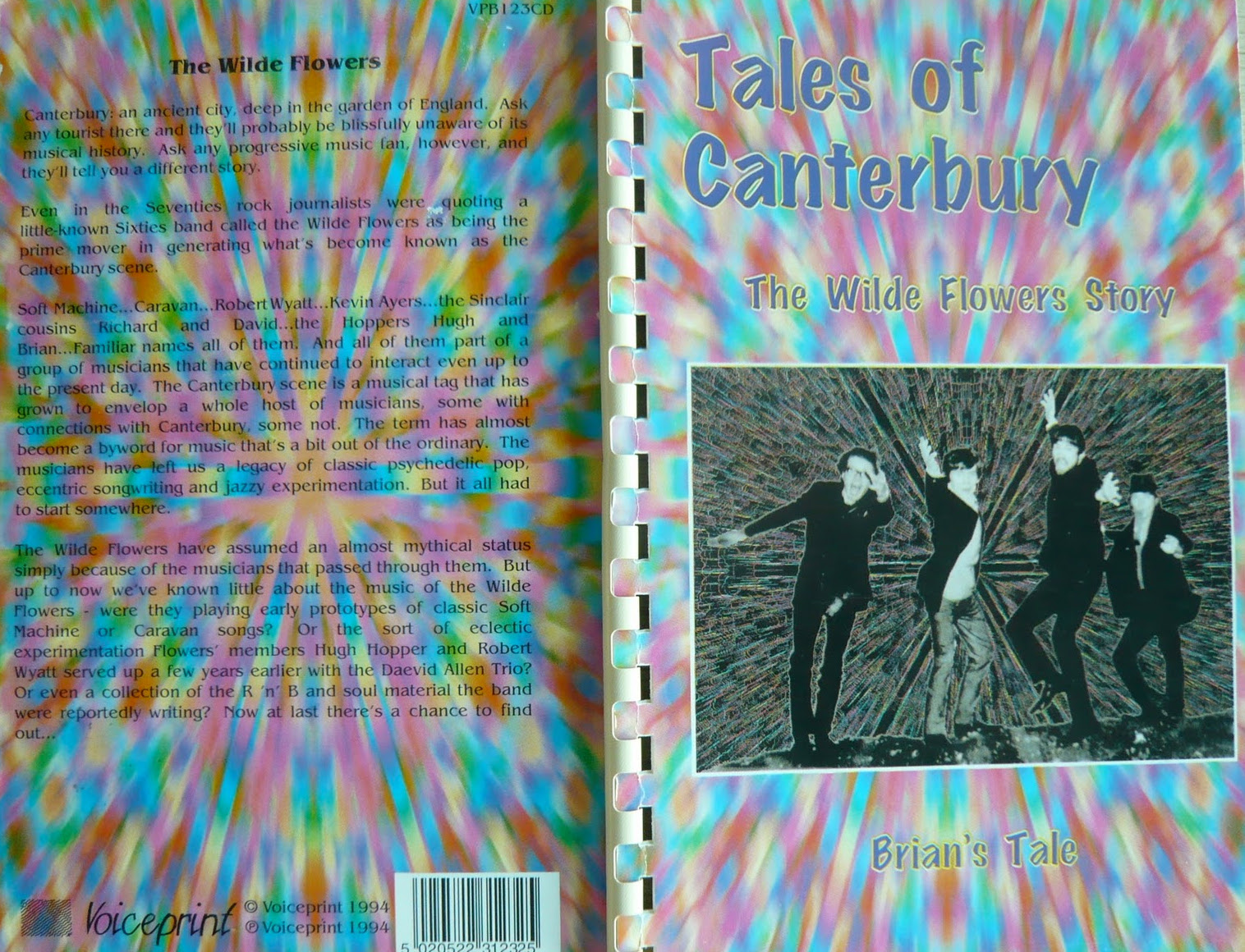 Tales of Canterbury: The Wilde Flowers Story - Brian's Tale Cover art