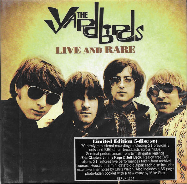 The Yardbirds — Live and Rare