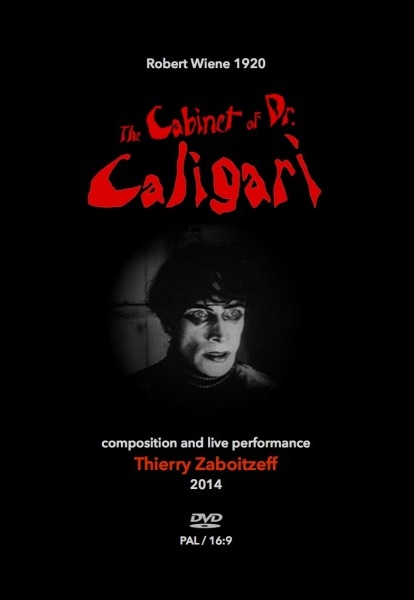 The Cabinet of Dr Caligari Cover art
