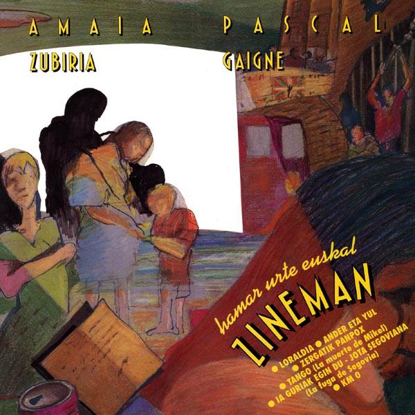 Amaia Zubiria / Pascal Gaigne — Zineman